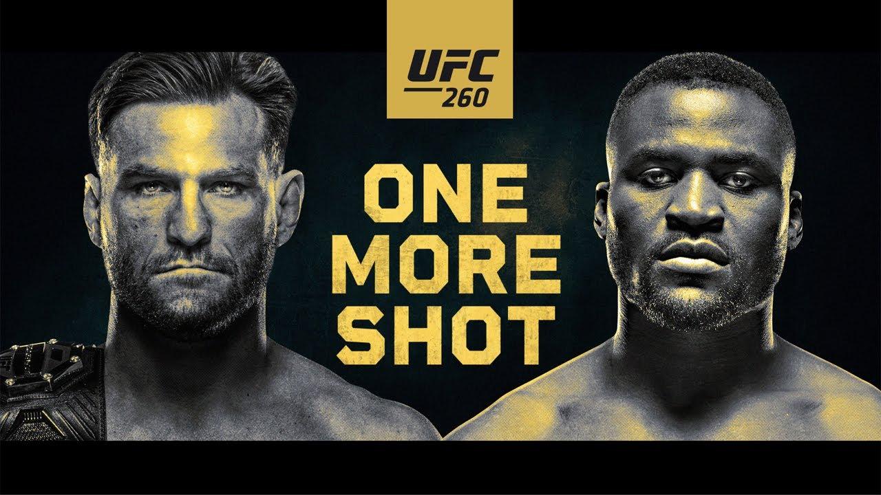UFC 260 live stream